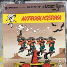 Cómics: NITROGLICERINA DE LUCKY LUKE, Nº35 DE GRIJALBO, EN CATALAN, IMPECABLE, TAPA DURA. Lote 217425201
