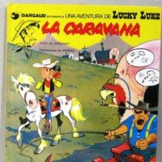 Fumetti: UNA AVENTURA DE LUCKY LUKE - LA CARAVANA - Nº 12 - GRIJALBO/DARGAUD - COMIC EN CATALAN. Lote 217427873