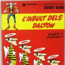 Cómics: UNA AVENTURA DE LUCKY LUKE - L'INDULT DELS DALTON - Nº 13 - GRIJALBO/DARGAUD -COMIC EN CATALAN. Lote 217428097