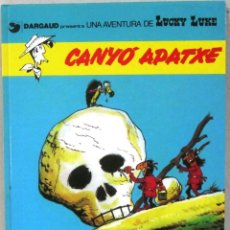 Cómics: UNA AVENTURA DE LUCKY LUKE -CANYO APATXE - Nº 17 - GRIJALBO/DARGAUD -COMIC EN CATALAN. Lote 217428812