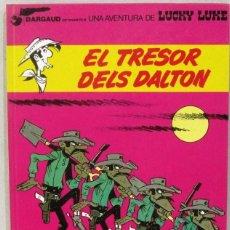 Cómics: UNA AVENTURA DE LUCKY LUKE - EL TRESOR DELS DALTON - Nº 19 - GRIJALBO/DARGAUD -COMIC EN CATALAN. Lote 217429066