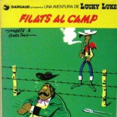 Cómics: UNA AVENTURA DE LUCKY LUKE - FILATS AL CAMP - Nº 31 - GRIJALBO/DARGAUD -COMIC EN CATALAN. Lote 217429370