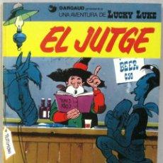 Cómics: UNA AVENTURA DE LUCKY LUKE - EL JUTGE - Nº 36 - GRIJALBO/DARGAUD -COMIC EN CATALAN. Lote 217429491