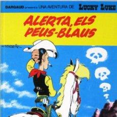 Cómics: UNA AVENTURA DE LUCKY LUKE -ALERTA ELS PEUS BLAUS - Nº 45-GRIJALBO/DARGAUD -COMIC EN CATALAN. Lote 217429602