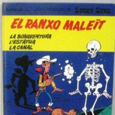 Cómics: UNA AVENTURA DE LUCKY LUKE -EL RANXO MALEIT- Nº 47-GRIJALBO/DARGAUD -COMIC EN CATALAN. Lote 217429673
