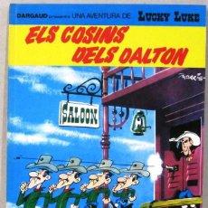 Cómics: UNA AVENTURA DE LUCKY LUKE - ELS COSINS DELS DALTON -Nº48 - GRIJALBO/DARGAUD -COMIC EN CATALAN. Lote 217429808