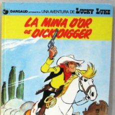 Cómics: UNA AVENTURA DE LUCKY LUKE - LA MINA D'OR DE DICKDIGGER -Nº49 - GRIJALBO/DARGAUD -COMIC EN CATALAN. Lote 217429987