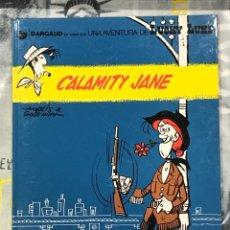 Cómics: CALAMITY JANE DE LUCKY LUKE, CATALÁN, Nº25 GRIJALBO, TAPA DURA, IMPECABLE. Lote 217431692