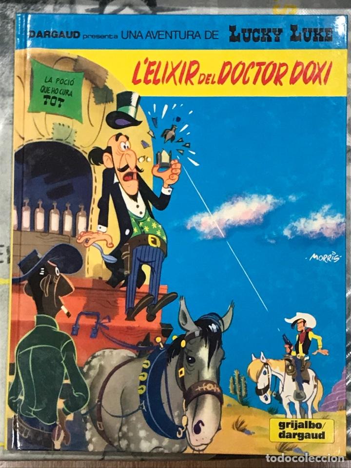 L'ELIXIR DEL DOCTOR DOXI , DE LUCKY LUKE, CATALÁN, Nº43 GRIJALBO, TAPA DURA, IMPECABLE 1991 (Tebeos y Comics - Grijalbo - Lucky Luke)