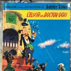Cómics: L'ELIXIR DEL DOCTOR DOXI , DE LUCKY LUKE, CATALÁN, Nº43 GRIJALBO, TAPA DURA, IMPECABLE 1991. Lote 217432177