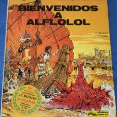 Comics : BIENVENIDOS A ALFLOFOL - VALERIAN - AGENTE ESPACIO TEMPORAL Nº 3 - GRIJALBO (1980). Lote 217653915