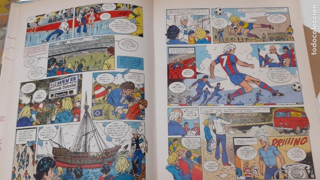 Cómics: ERIC CASTEL nº 3 - ¡ TARJETA ROJA ¡ - ED. JUNIOR 1981 1ª EDICIÓN - TAPA DURA - BIEN - Foto 7 - 147726526