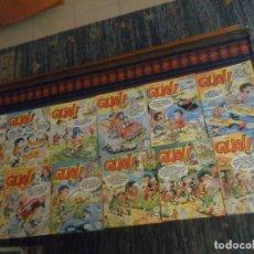 Cómics: GUAI! 2 4 5 9 11 17 18 19 20 23 26 30 32 EXTRA NAVIDAD 33 42 44 45 46 48 52 55. JUNIOR 140 PTS 1986.. Lote 217724000