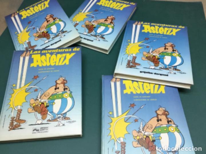 COLECCION 5 TOMOS EN GUAFLEX ASTERIX Y OBELIX GRIJALBO FINALES 80 (Tebeos y Comics - Grijalbo - Asterix)