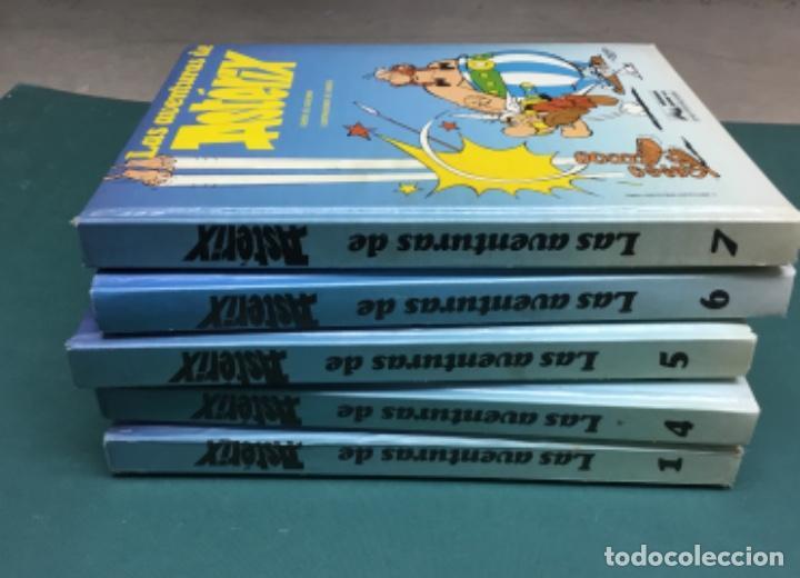 Cómics: COLECCION 5 TOMOS en GUAFLEX Asterix y Obelix GRIJALBO Finales 80 - Foto 2 - 217728333