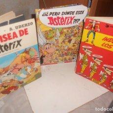 Cómics: LOTE CÓMIC LA ODISEA..1981, DONDE ESTÁ ASTÉRIX?, L. LUKE INDULTO A LOS DALTON..GOSCINNY, OFERTA. Lote 217840347