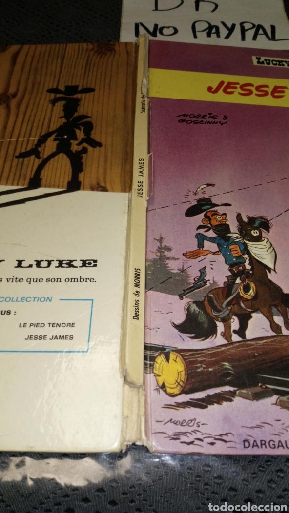 Cómics: Antiguo cómic 1969 Lucky luke en francés Francia jesse james ver fotos estado necesita reparación - Foto 3 - 217861212