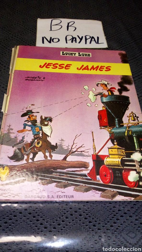 ANTIGUO CÓMIC 1969 LUCKY LUKE EN FRANCÉS FRANCIA JESSE JAMES VER FOTOS ESTADO NECESITA REPARACIÓN (Tebeos y Comics - Grijalbo - Lucky Luke)