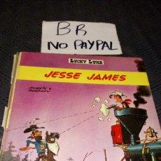 Cómics: ANTIGUO CÓMIC 1969 LUCKY LUKE EN FRANCÉS FRANCIA JESSE JAMES VER FOTOS ESTADO NECESITA REPARACIÓN. Lote 217861212