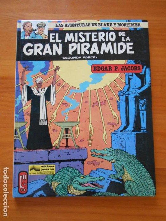 EL MISTERIO DE LA GRAN PIRAMIDE SEGUNDA PARTE - 2 - BLAKE Y MORTIMER - JUNIOR - TAPA DURA (B) (Tebeos y Comics - Grijalbo - Blake y Mortimer)