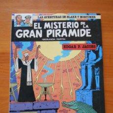 Cómics: EL MISTERIO DE LA GRAN PIRAMIDE SEGUNDA PARTE - 2 - BLAKE Y MORTIMER - JUNIOR - TAPA DURA (B). Lote 217894351