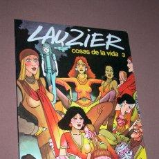 Cómics: COSAS DE LA VIDA Nº 3. GERARD LAUZIER. TRANCHES DE VIE TRADUCE ANDREU MARTÍN. GRIJALBO DARGAUD, 1983. Lote 217925640