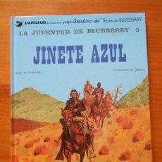 Cómics: BLUEBERRY Nº 14 - JINETE AZUL - LA JUVENTUD DE BLUEBERRY 3 - GRIJALBO / DARGAUD - TAPA DURA (CO). Lote 217977440