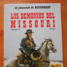Cómics: LA JUVENTUD DE BLUEBERRY Nº 25 - LOS DEMONIOS DEL MISSOURI - JUNIOR, GRIJALBO - TAPA DURA (CO). Lote 217980870