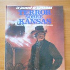 Cómics: LA JUVENTUD DE BLUEBERRY Nº 27 - TERROR SOBRE KANSAS - JUNIOR, GRIJALBO - TAPA DURA (CO). Lote 217981018