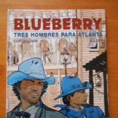 Cómics: LA JUVENTUD DE BLUEBERRY Nº 33 - TRES HOMBRES PARA ATLANTA - JUNIOR, GRIJALBO - TAPA DURA (CO). Lote 217981696
