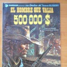 Cómics: UNA AVENTURA DEL TENIENTE BLUEBERRY Nº 8 - EL HOMBRE QUE VALIA 500000 $ - JUNIOR - TAPA DURA (CA). Lote 217991875