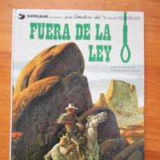 Cómics: UNA AVENTURA DEL TENIENTE BLUEBERRY Nº 10 - FUERA DE LA LEY - GRIJALBO / DARGAUD - TAPA DURA (CA). Lote 217992246