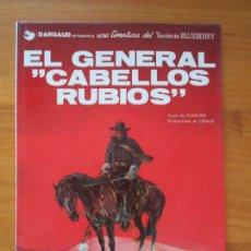 Cómics: UNA AVENTURA DEL TENIENTE BLUEBERRY Nº 6 - EL GENERAL CABELLOS RUBIOS - JUNIOR - TAPA DURA (CA). Lote 217994031