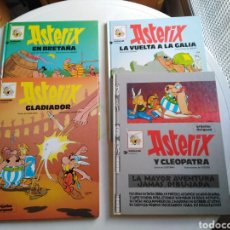 Cómics: LOTE DE 4 CÓMIC ASTERIX ( TAPA DURA ). Lote 218106495