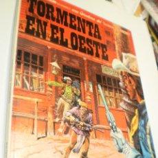 Cómics: TORMENTA EN EL OESTE. TENIENTE BLUEBERRY. GRIJALBO 1982 TAPA DURA (BUEN ESTADO). Lote 218130348