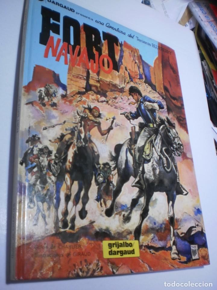 FORT NAVAJO. TENIENTE BLUEBERRY. GRIJALBO 1982 TAPA DURA (BUEN ESTADO) (Tebeos y Comics - Grijalbo - Blueberry)