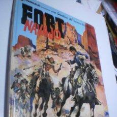 Comics: FORT NAVAJO. TENIENTE BLUEBERRY. GRIJALBO 1982 TAPA DURA (BUEN ESTADO). Lote 218130676