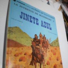 Cómics: JINETE AZUL. TENIENTE BLUEBERRY. GRIJALBO 1982 TAPA DURA (BUEN ESTADO). Lote 218131207
