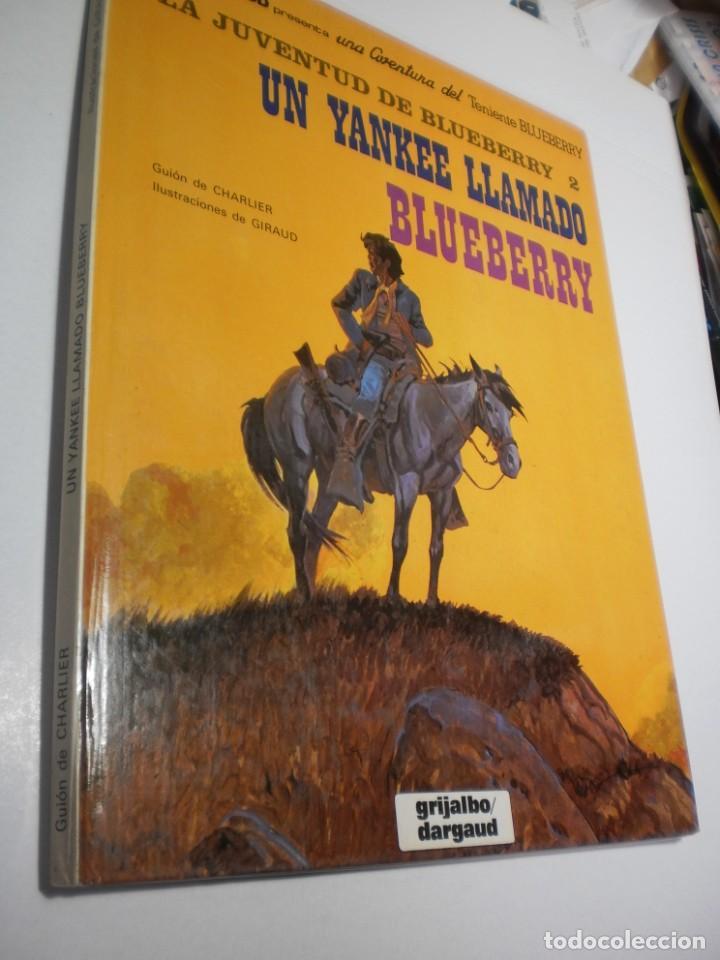 UN YANKEE LAMADO BLUEBERRY. TENIENTE BLUEBERRY. GRIJALBO 1982 TAPA DURA (BUEN ESTADO) (Tebeos y Comics - Grijalbo - Blueberry)