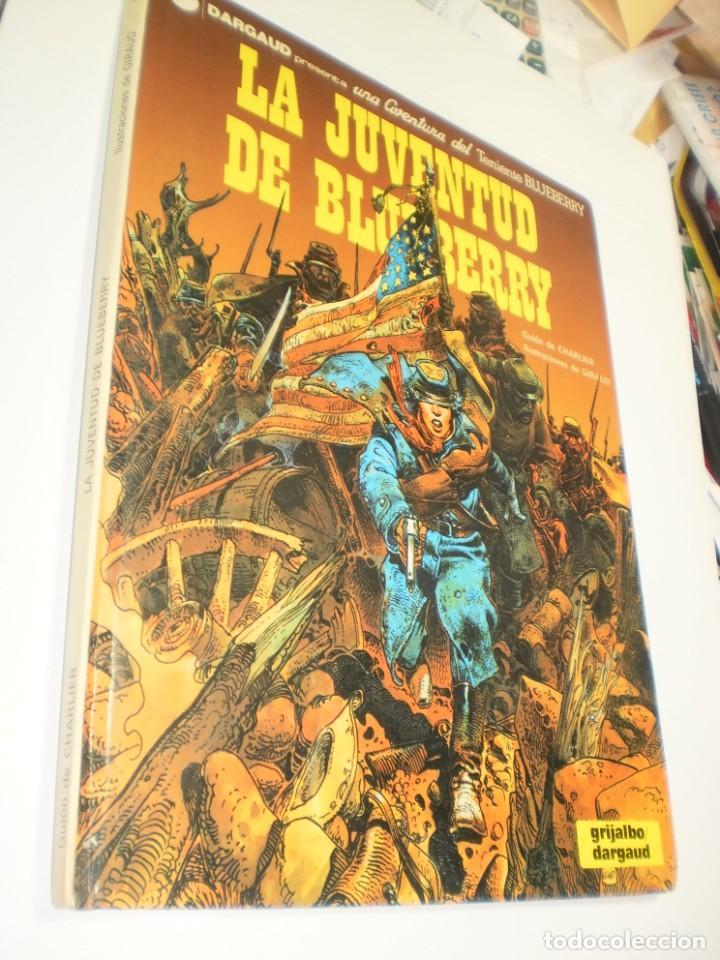 (RESERVADO) LA JUVENTUD DE BLUEBERRY. TENIENTE BLUEBERRY. GRIJALBO 1982 TAPA DURA (BUEN ESTADO) (Tebeos y Comics - Grijalbo - Blueberry)