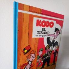 Cómics: SPIROU - KODO EL TIRANO - GRIJALBO JUNIOR - MUY BUEN ESTADO. Lote 218207838