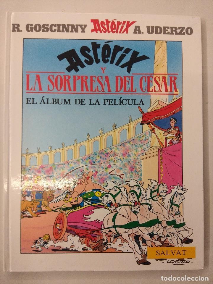 ASTERIX-LA SORPRESA DEL CESAR/EL ALBUM DE LA PELICULA/MBE¡¡¡¡¡¡¡¡¡¡¡¡¡¡¡¡¡ (Tebeos y Comics - Grijalbo - Asterix)