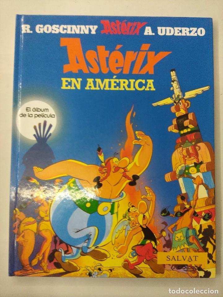 ASTERIX EN AMERICA/EL ALBUM DE LA PELICULA/MBE¡¡¡¡¡¡¡¡¡¡¡¡¡¡¡¡¡ (Tebeos y Comics - Grijalbo - Asterix)