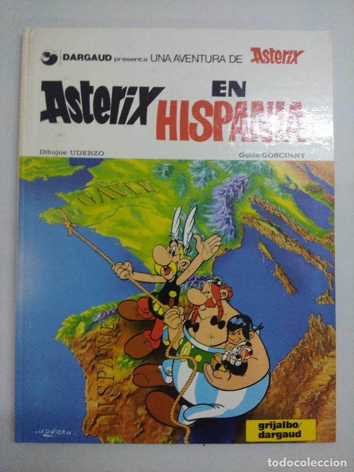 ASTERIX EN HISPANIA Nº14/EDITORIAL GRIJALBO 1980. (Tebeos y Comics - Grijalbo - Asterix)