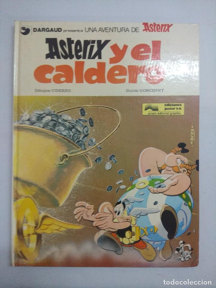ASTERIX Y EL CALDERO/EDICIONES JUNIOR. (Tebeos y Comics - Grijalbo - Asterix)