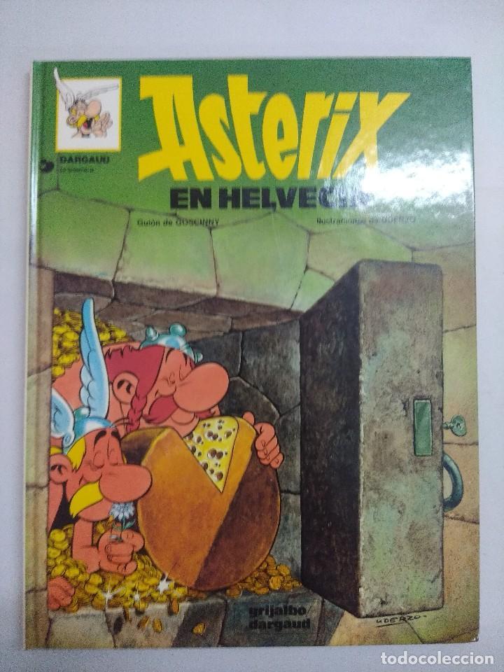 ASTERIX EN HELVECIA Nº16/DARGAUD. (Tebeos y Comics - Grijalbo - Asterix)
