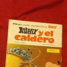 Cómics: ASTERIX - ASTERIX Y EL CALDERO - GOSCINNY & UDERZO - ED. BRUGUERA - CARTONE. Lote 218450770