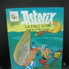 Cómics: ASTERIX LA FALÇ D'OR (AND THE GOLDEN SICKLE) EDICION BILINGUE. GRIJALBO - DARGAUD 1996. Lote 218564642