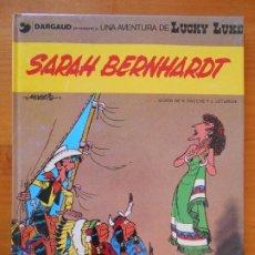 Comics : SARAH BERNHARDT - LUCKY LUKE Nº 23 - GRIJALBO / DARGAUD - TAPA DURA (AN). Lote 218667297