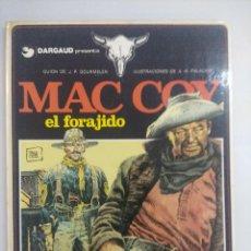 Cómics: MAC COY/EL FORAGIDO Nº12 GRIJALBO.. Lote 218723977